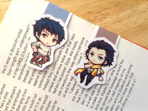 Persona Ryoji, Mishima bookmark