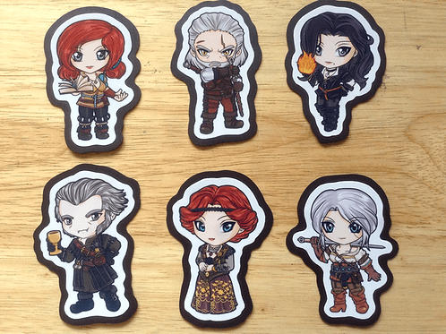Witcher 3 Magnets