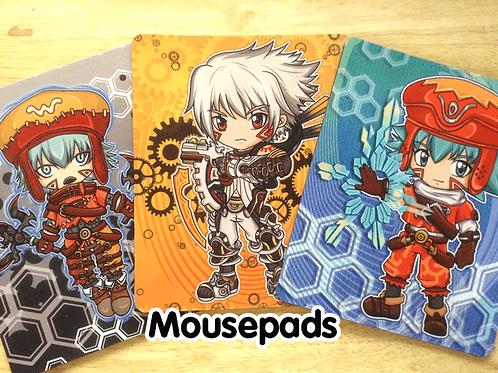 .hack Mousepads (Kite, Azure Kite, Haseo)