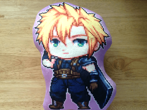 FF7 Cloud pillow