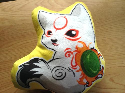 Okamiden Chibiterasu Pillow