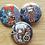 Thumbnail: .hack button pins (Kite, Azure Kite, Haseo)