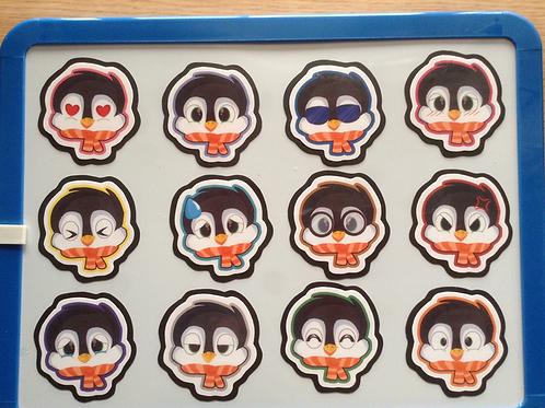 Penguin Magnets