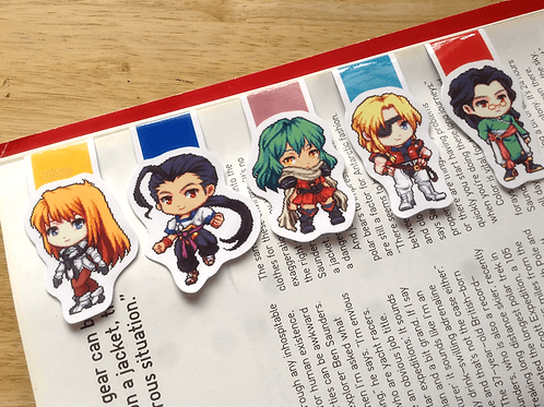 Xenogears magnetic bookmarks