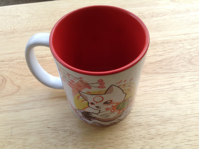 Okamiden Chibiterasu Mug
