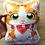 Thumbnail: Orange Tabby Cat Pillow