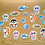 Thumbnail: Sea animal stickers