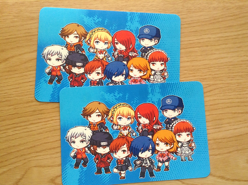 Set of 2 Persona 3 Postcards