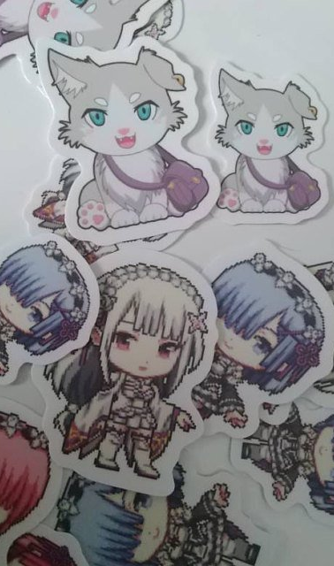Re:Zero stickers