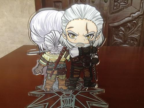 Witcher 3 Acrylic Stand - Geralt x Ciri