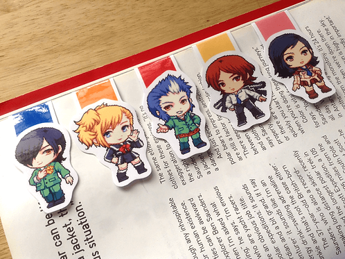 Persona 2 magnetic bookmarks