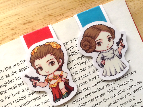 Star Wars Leia bookmark