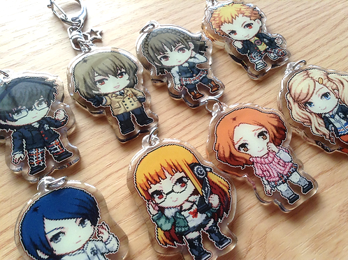 Persona 5 Acrylic Keychain