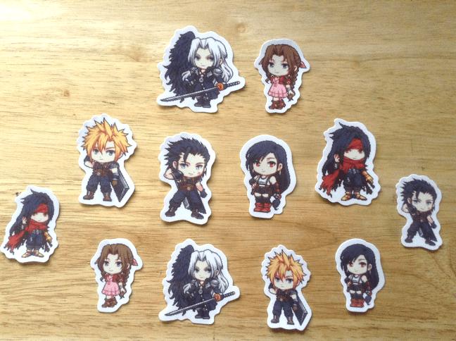 Final Fantasy VII Stickers