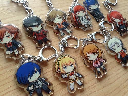 Persona 3 Acrylic Keychain