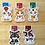Thumbnail: Cat magnetic bookmarks