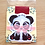 Thumbnail: Panda magnetic bookmark