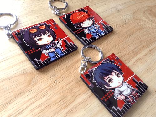 Persona 5 Confidant keychains
