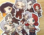 Witcher 3 stickers