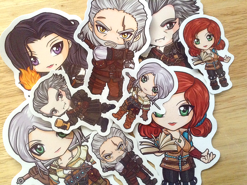 Witcher 3 stickers