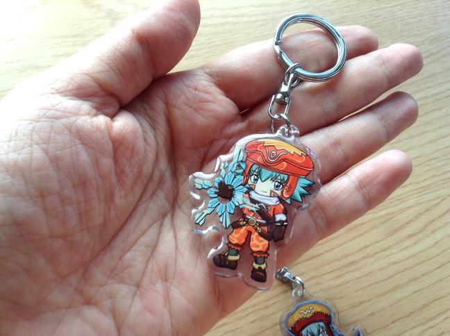 .hack Kite, Azure Kite, Haseo Acrylic Keychain