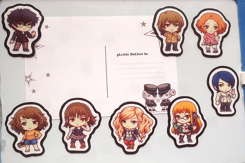 Persona 5 Magnets