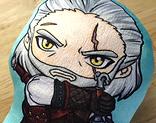 Geralt Plush Pillow