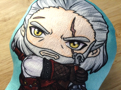 Witcher 3 Geralt Plush