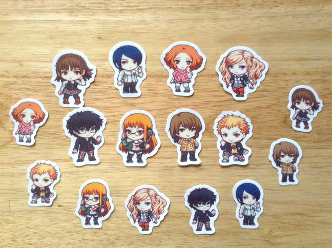 Persona 5 Stickers