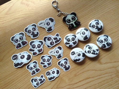 Panda Gift Set Bundle