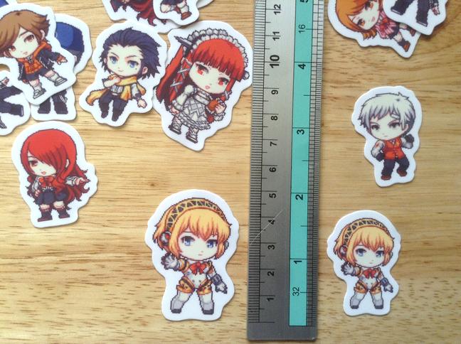 Persona 3 Stickers