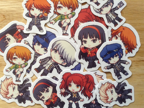 Persona 4 Stickers