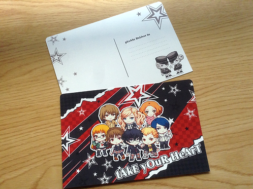 Set of 2 Persona 5 Postcard