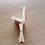 Thumbnail: 1/12 Miniature foldable Chair, Miniature folding Chair