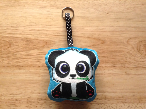 Panda mini pillow