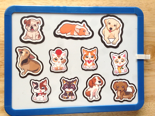 Cat and Dog Magnets