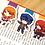 Thumbnail: Persona girls magnetic bookmarks (Naoto, Mitsuru, Yukari)