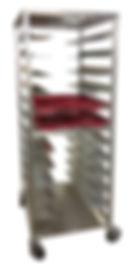 Aluminum Utility Racks for Hopsital Trays