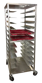 Aluminum Utility Racks for Hopsital Trays