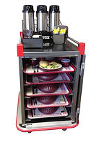 CH Performance Tray Delivery and Room Service Carts