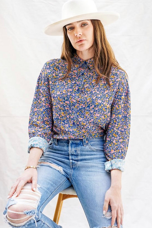 Coast Floral Shirt - Blue
