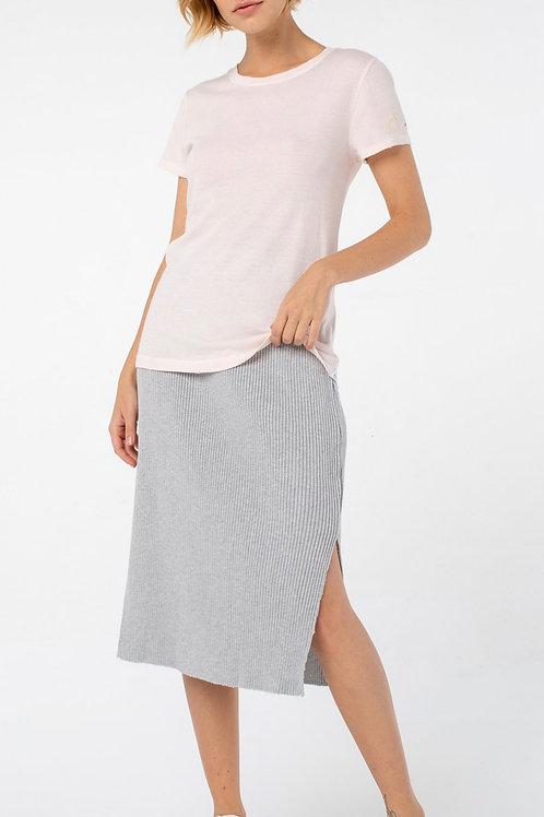 Jill Ribbed Skirt