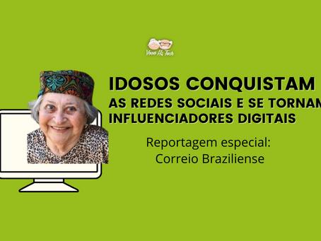 Idosos conquistam as redes sociais e se tornam influenciadores digitais