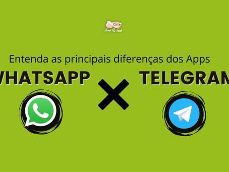 WhatsApp x Telegram - Entenda as principais diferenças dentre os Apps
