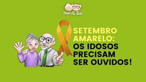 Setembro Amarelo: os idosos precisam ser ouvidos!