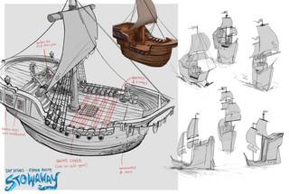 Pirate Ship Exploration & Details