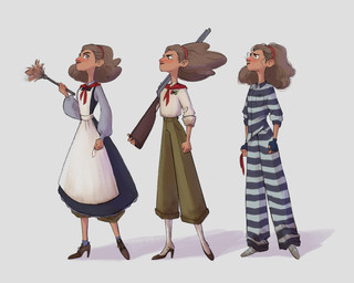 Costume Progression