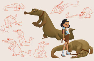Girl Scout + Croc