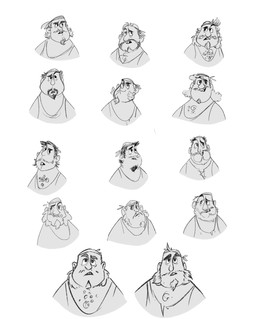 Face Iteration Sheet -First Mate
