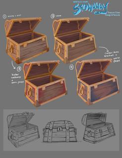Treasure Chest - Design & Texture